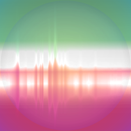 Equalizer background. Music wave. EPS10 vector Vector