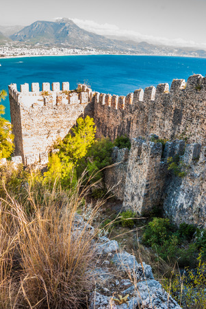 castle of Alanya, Antalya, Turkey photo
