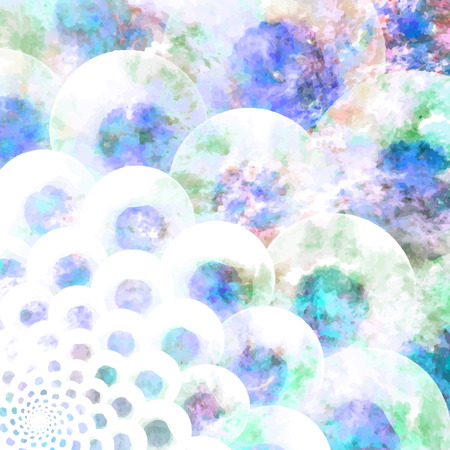 printed media: Abstract Flower texture, blue, purple. Modern colorful pattern resembling watercolor strokes. Design element for backgrounds, printed media, web banners, etc.