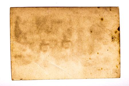 Ruggen van oude foto's. Aged papier achtergrond. Stockfoto