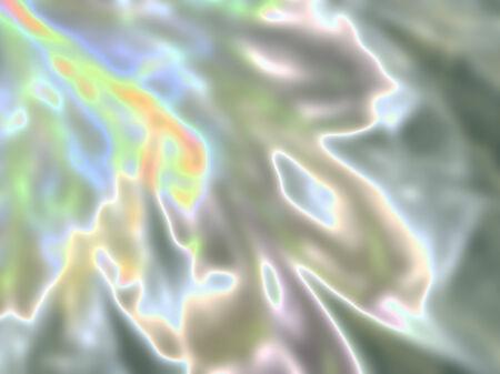 Macro closeup of fractal flower, digital artwork for creative graphic design photo