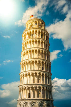 piazza dei miracoli: View of Leaning tower, Piazza dei miracoli, Pisa, Italy.