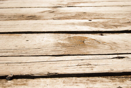 weather beaten: Old Shabby Wooden Planks with cracked color Paint, background