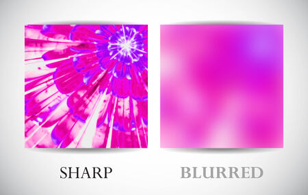 web side: Abstract background with left side with blurred surface. Asymmetrical template for web and graphic interface.