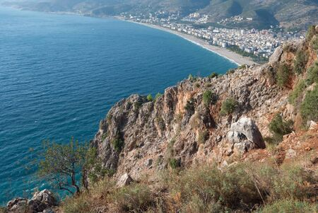 castle of Alanya in Antalya, Turkey photo