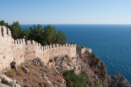 castle of Alanya, Antalya, Turkey