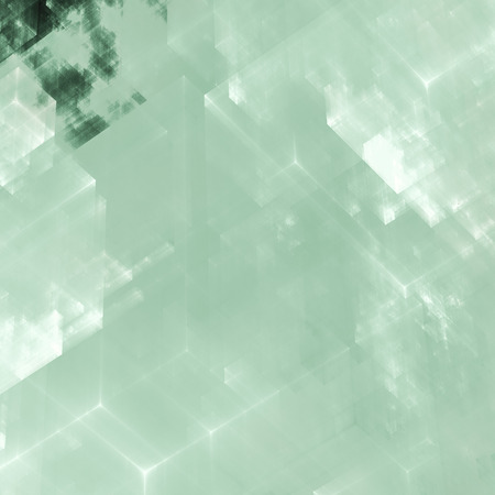 Abstracts background with transparent rectangular shapes as conceptual metaphor for modern technology, science and business. photo