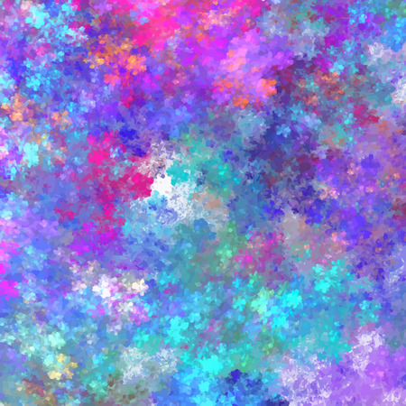 Abstract texture for colorful banner design. Multicolored ink splashes in vector format.