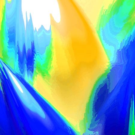 Digitally recreated watercolor flower texture Vector