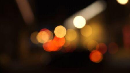 vj: Semafori notte Defocused, offuscata astratto