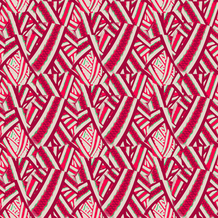 wickerwork: Seamless pattern. Template for web, print, and wallpaper. Illustration