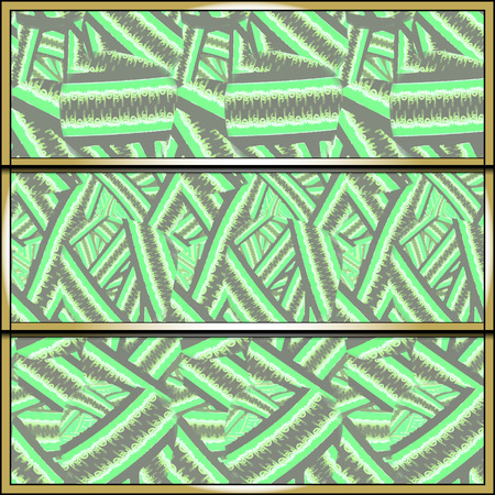 Set of seamless patterns. Background templates for web, print, and wallpaper. Vector