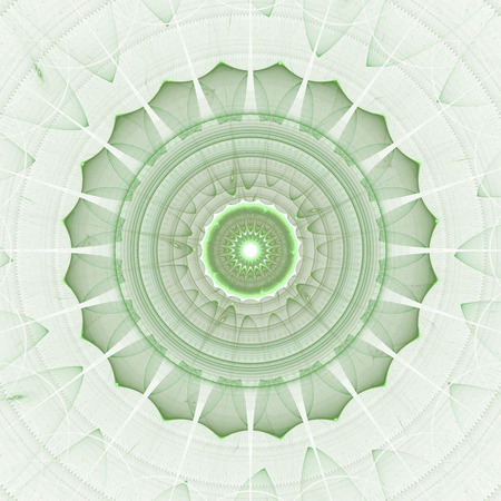Abstracts background with circular digital pattern resembling sun, lace or floral elements.