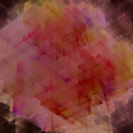 abstracts: Abstracts background with transparent rectangular shapes as conceptual metaphor for modern technology, science and business. Stock Photo
