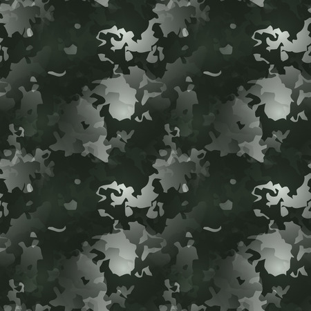 stealth: Modern camouflage pattern. Seamless background tile for military clothing prints, vehicles and game design.