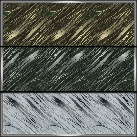 stealth: Set of contemporary camouflage tiles with uniform patterns for all seasons. Seamless background tiles for military clothing prints, vehicles and game design. Illustration