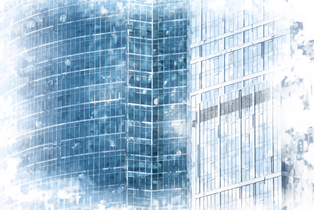 limpid: modern office buildings texture. background for business