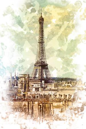 Torre Eiffel Archivio Fotografico - 38906348
