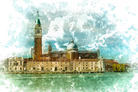 Piazza di San Marco view on Piazza di San Marco from a boat.