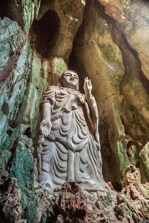 budda: Statue of Budda in Marble Mountains complex near Da Nang city, Vietnam.