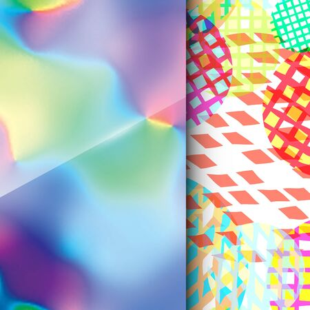 printed media: Abstract background with colorful blurred texture. For use as a design element in web, mobile applications, and printed media