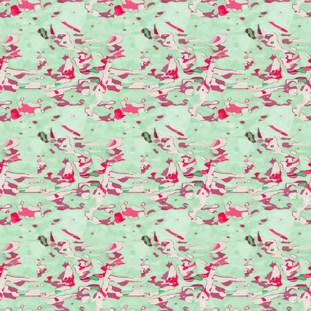 Generated seamless pattern resembling painting texture. Good for wrapping paper or wallpaper for web or clothing prints. Illustration
