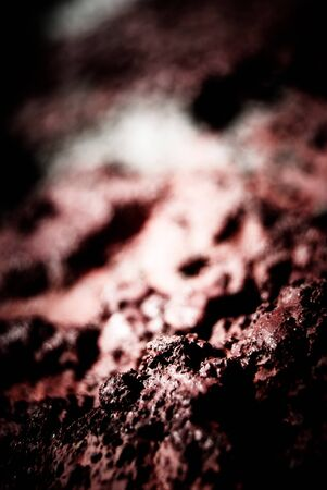 field depth: painted concrete, macro with shallow depth od field, background texture Stock Photo