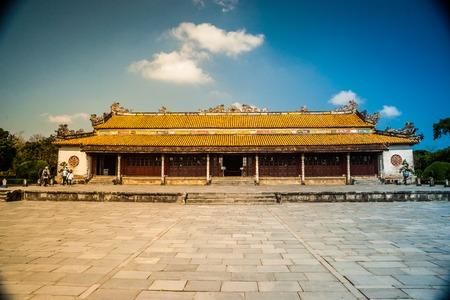 citadel: Beautiful site of Citadel in Hue, Vietnam.