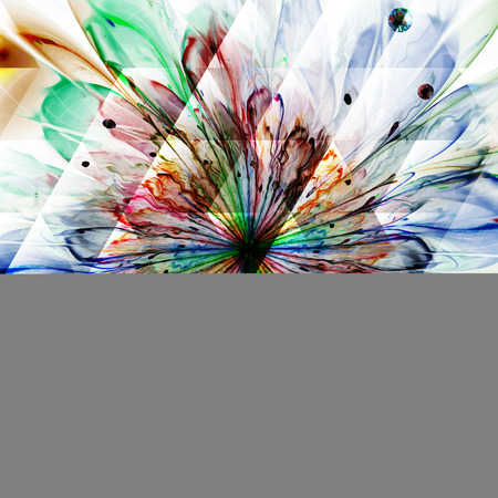 Digitally recreated watercolor flower texture. Abstract background for use in web projects and printed media. Vector