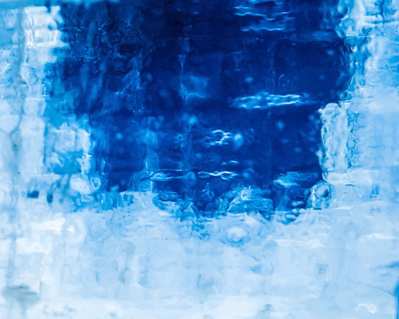 scraping: vector realistic ice texture to use as a background foe websites or other media Illustration