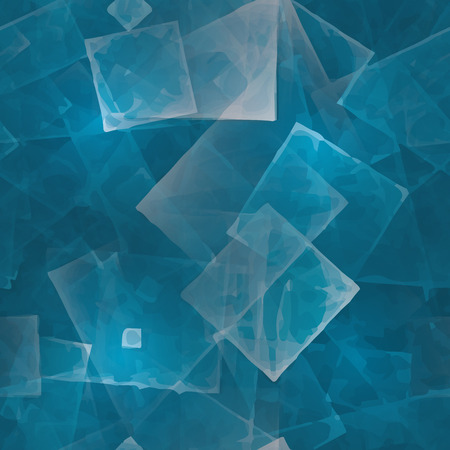 abstracts: Seamless pattern. Abstracts background with transparent rectangular shapes as conceptual metaphor for modern technology, science and business. Illustration