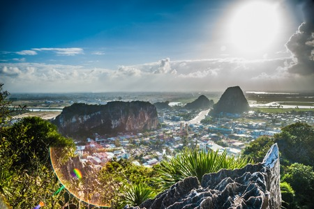 vietnam: View from the Marble mountains, Da Nang, Vietnam
