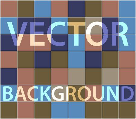 randomly: Abstract background with randomly colored squares.