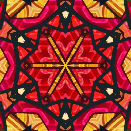 glass pattern: Stained glass pattern.
