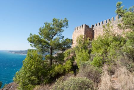 alanya: castle of Alanya, Antalya, Turkey