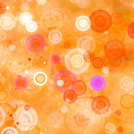 discs: Abstract background with colorful discs