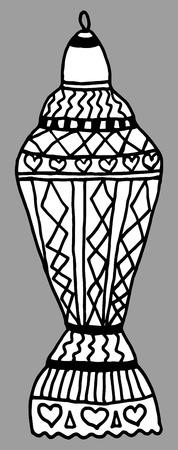 iftar: Colorful drawings of lantern