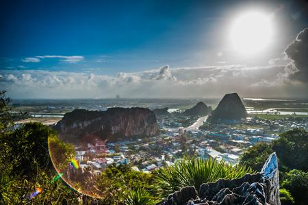 Uitzicht vanaf de Marmeren bergen, Da Nang, Vietnam