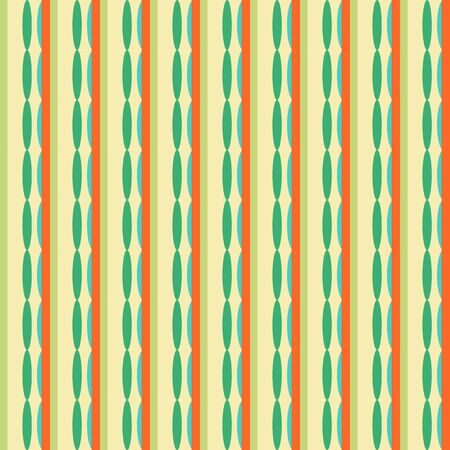 printed media: Abstract geometric retro seamless tile. Retro wallpaper texture. Vintage pattern for design uses, web and printed media. Colorful wrapping paper.