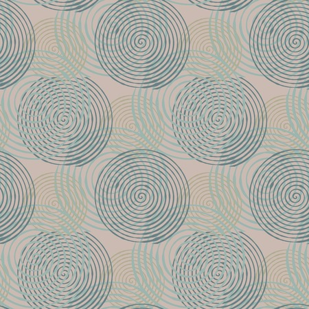 superposition: Seamless pattern with abstract geometrical elements. Seamless colorful spirals. Stylish texture for different design uses.