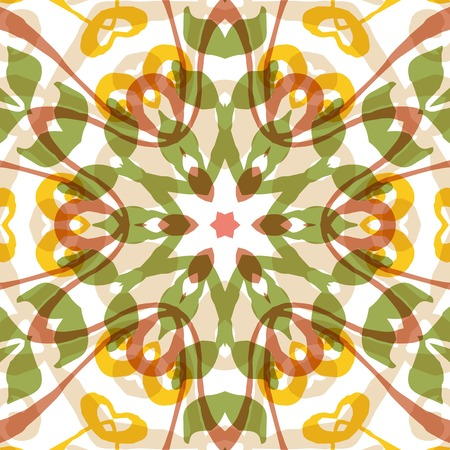 kelet európa: Gorgeous seamless patchwork pattern. Colorful floral ornament tiles. For different design uses, as wallpaper, pattern fills, web page background, surface texturesm for print and dalle production.