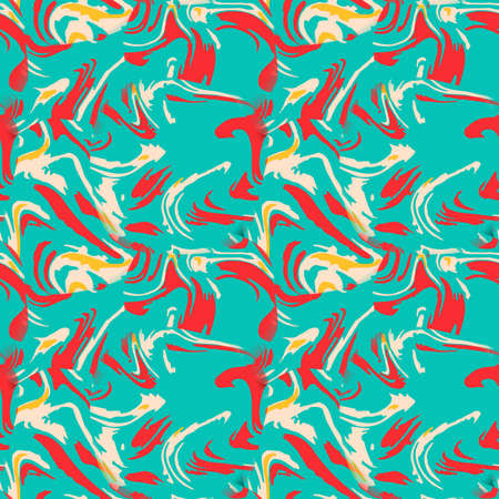 colofrul: Seamless pattern with floral palette. Bright and colorful background for textile prints, web usage and wrapping paper.
