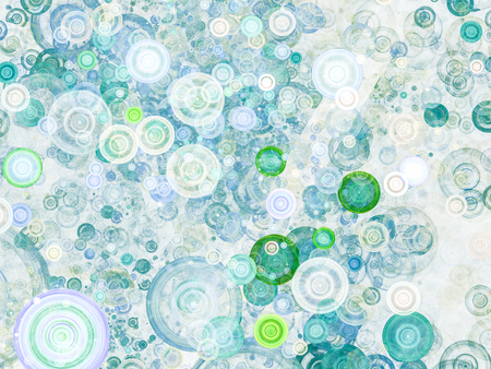 background texture metaphor: Abstract background with colorful discs as conceptual metaphor for modern technology, science and business. Stylish background texture for design projects.