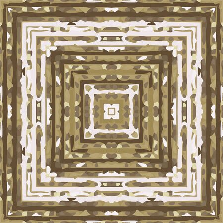 rythm: Flat ethnic seamless pattern. Colorful geometrical ornament tiles. For different design uses, as wallpaper, pattern fills, web page background, surface textures for print and dalle production.