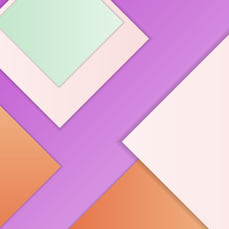 solid background: Stack of random rectangles hovering in space on a flat surface. Abstract background in the paradigm of material design