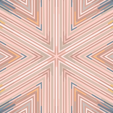 Flat ethnic seamless pattern. Colorful geometrical ornament tiles. For different design uses, as wallpaper, pattern fills, web page background, surface textures for print and dalle production.