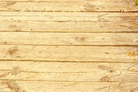 splintered: Old Shabby Wooden Planks with cracked color Paint