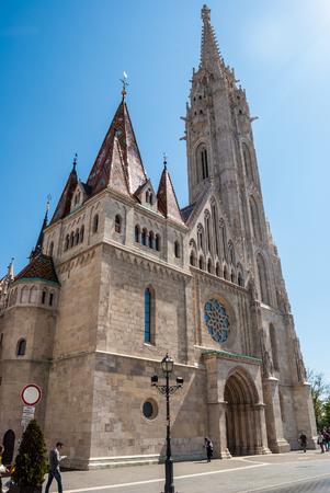 matthias: St. Matthias church in Budapest, Hungary.
