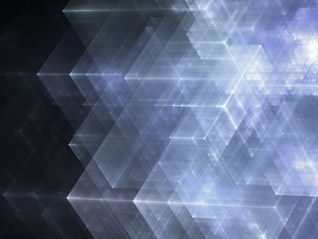 Abstracts background with transparent rectangular shapes as conceptual metaphor for modern technology, science and business. Stylish background texture for design projects.