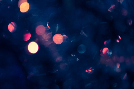 christmas backgrounds: Colorful blurred image of Christmas decoration. Image for festive backgrounds and wallpapers.